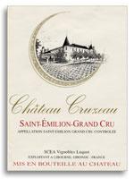 2015 Chateau Cruzeau Saint Emilion Grand Cru