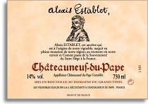 2005 Domaine Du Grand Tinel Chateauneuf Du Pape Alexis Establet