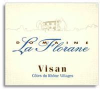 2010 Domaine La Florane Cotes-du-Rhone Villages Visan