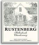 2011 Rustenberg Wines Chardonnay Stellenbosch