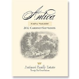 2012 Antica Estate by Antinori Cabernet Sauvignon Atlas Peak Napa