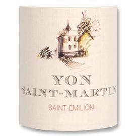 2012 Chateau Yon Saint-Martin Saint-Emilion