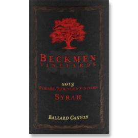 2013 Beckmen Vineyards Syrah Purisima Mountain Vineyard Ballard Canyon