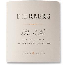2013 Dierberg Vineyard Pinot Noir Drum Canyon Vineyard Sta. Rita Hills
