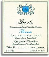 2005 Elio Altare Barolo Brunate