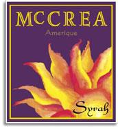 2007 Mccrea Cellars Syrah Amerique Yakima Valley
