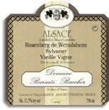 2011 Domaine Barmes-Buecher Sylvaner Rosenberg Vieilles Vignes