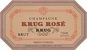 NV Krug Brut Rose