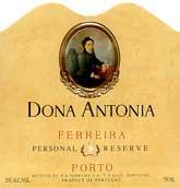 NV Ferreira Tawny Port Dona Antonia Personal Reserve