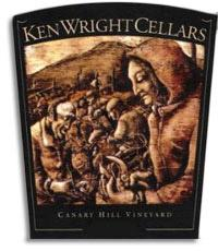 2007 Ken Wright Cellars Pinot Noir Canary Hill Vineyard Willamette Valley