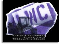 2010 Loring Wine Company Pinot Noir Rosella's Vineyard Santa Lucia Highlands