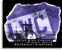 2008 Loring Wine Company Pinot Noir Brosseau Vineyard Chalone