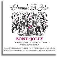 2010 Edmunds St. John Gamay Noir Bone Jolly El Dorado County