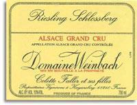 2011 Domaine Weinbach Riesling Schlossberg