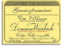 2014 Domaine Weinbach Gewurztraminer Cuvee Laurence