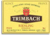 2011 Trimbach Riesling Reserve