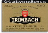 2004 Trimbach Gewurztraminer Seigneurs De Ribeaupierre