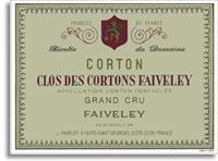 2012 Domaine Faiveley Corton Clos Des Cortons Faiveley