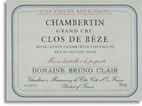 2006 Domaine Bruno Clair Chambertin-Clos de Beze