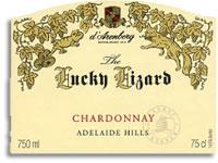 2008 d'Arenberg Chardonnay The Lucky Lizard Adelaide Hills