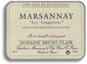 2012 Domaine Bruno Clair Marsannay Les Longeroies