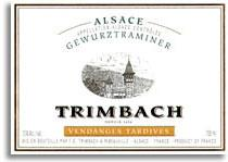 2000 Trimbach Gewurztraminer Vendanges Tardives