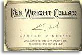 2008 Ken Wright Cellars Pinot Noir Carter Vineyard Willamette Valley