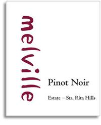 2010 Melville Vineyards And Winery Pinot Noir Estate Sta Rita Hills