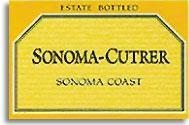 2010 Sonoma Cutrer Winery Chardonnay Sonoma Coast
