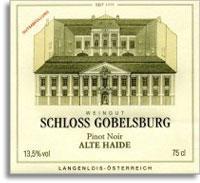 2011 Schloss Gobelsburg Pinot Noir Alte Haide