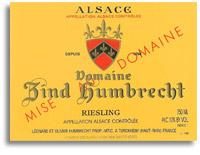 2011 Domaine Zind Humbrecht Riesling