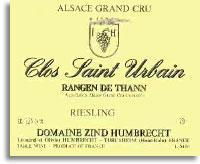 2013 Domaine Zind Humbrecht Riesling Rangen de Thann Clos St. Urbain