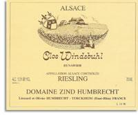 2013 Domaine Zind Humbrecht Riesling Clos Windsbuhl