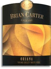 2014 Brian Carter Cellars Oriana White Wine Yakima Valley