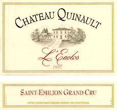 2000 Chateau Quinault L'Enclos Saint Emilion