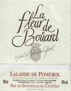 2013 La Fleur De Bouard Lalande De Pomerol