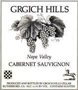 2003 Grgich Hills Cellars Cabernet Sauvignon Napa Valley
