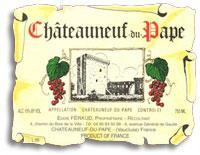 2012 Eddie Feraud Chateauneuf-du-Pape