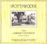 2002 Spottswoode Vineyard Cabernet Sauvignon St Helena Napa Valley