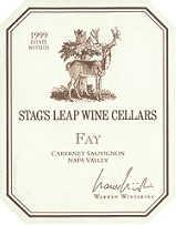 2013 Stag's Leap Wine Cellars Cabernet Sauvignon Fay Vineyard Napa Valley