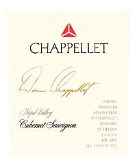 2011 Chappellet Vineyard Cabernet Sauvignon Signature Napa Valley