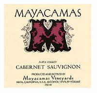 2007 Mayacamas Vineyards Cabernet Sauvignon Mount Veeder Napa Valley