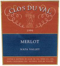 Vv Clos Du Val Merlot Napa Valley