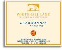 2009 Whitehall Lane Winery Chardonnay Carneros