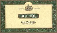 2007 Kunde Estate Winery Viognier Sonoma Valley