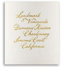 2009 Landmark Vineyards Chardonnay Damaris Reserve Sonoma Coast