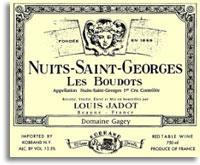 2011 Domaine/Maison Louis Jadot Nuits-Saint-Georges Les Boudots