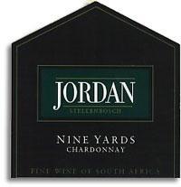 2010 Jordan Winery Jardin Chardonnay Nine Yards Stellenbosch