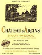 2015 Chateau d'Arcins Haut Medoc