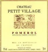 2009 Chateau Petit Village Pomerol